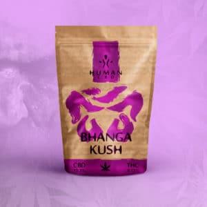 La Bhanga Kush est une fleur de CBD de qualité, elle est dans son emballage scellé. Le CBD sers à réduire le stress l'anxiété et les problèmes de sommeil.