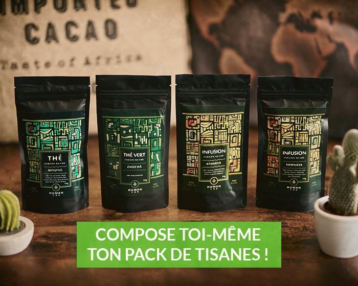 pack tisanes cbd